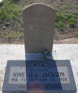 JACKSON, IONE IDA #2 - Pima County, Arizona   IONE IDA #2 JACKSON - Arizona Gravestone Photos