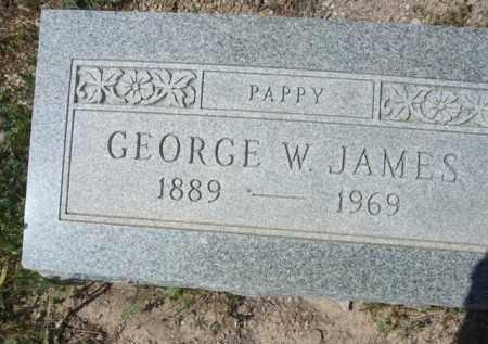 JAMES, GEORGE W. - Pima County, Arizona | GEORGE W. JAMES - Arizona Gravestone Photos