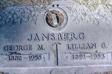 JANSBERG, LILLIAN - Pima County, Arizona | LILLIAN JANSBERG - Arizona Gravestone Photos