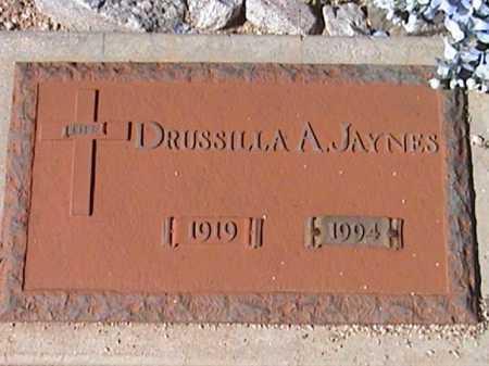 JAYNES, DRUSSILLA A. - Pima County, Arizona | DRUSSILLA A. JAYNES - Arizona Gravestone Photos