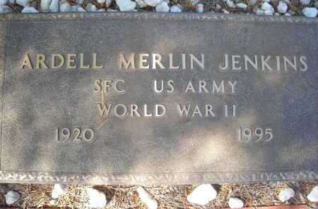 JENKINS, ARDELL MERLIN - Pima County, Arizona   ARDELL MERLIN JENKINS - Arizona Gravestone Photos