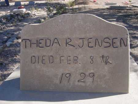 JENSEN, THEDA R. - Pima County, Arizona | THEDA R. JENSEN - Arizona Gravestone Photos