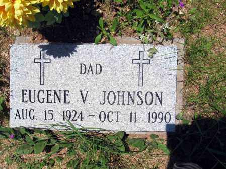 JOHNSON, EUGENE V. - Pima County, Arizona | EUGENE V. JOHNSON - Arizona Gravestone Photos