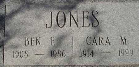 JONES, BEN F. - Pima County, Arizona | BEN F. JONES - Arizona Gravestone Photos