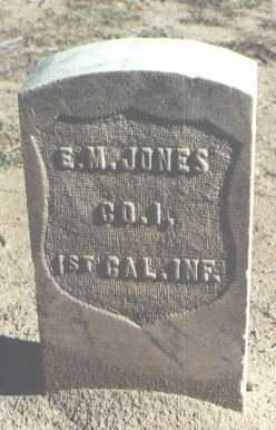 JONES, E. M. - Pima County, Arizona | E. M. JONES - Arizona Gravestone Photos