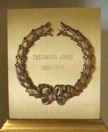 MCKEEMAN JONES, THEODOSIA - Pima County, Arizona | THEODOSIA MCKEEMAN JONES - Arizona Gravestone Photos