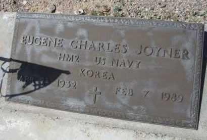JOYNER, EUGENE CHARLES - Pima County, Arizona | EUGENE CHARLES JOYNER - Arizona Gravestone Photos