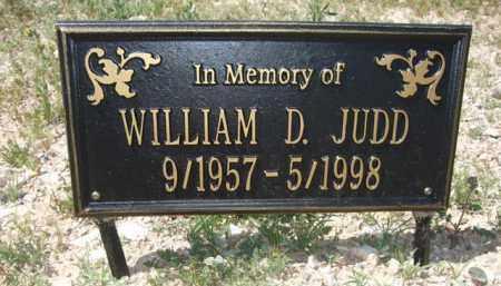 JUDD, WILLIAM D. - Pima County, Arizona | WILLIAM D. JUDD - Arizona Gravestone Photos