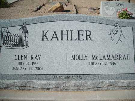 KAHLER, MOLLY MCLAMARRAH - Pima County, Arizona | MOLLY MCLAMARRAH KAHLER - Arizona Gravestone Photos