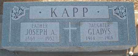 KAPP, JOSEPH A. - Pima County, Arizona | JOSEPH A. KAPP - Arizona Gravestone Photos