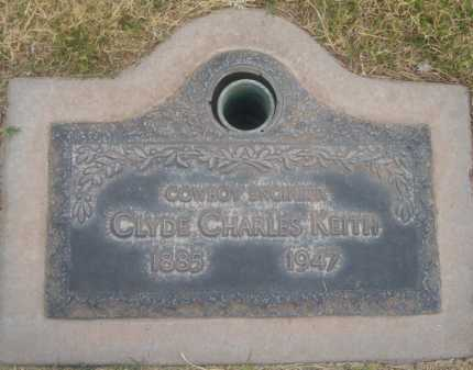 KEITH, CLYDE CHARLES - Pima County, Arizona | CLYDE CHARLES KEITH - Arizona Gravestone Photos