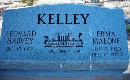 KELLEY, ERMA MALONE - Pima County, Arizona | ERMA MALONE KELLEY - Arizona Gravestone Photos