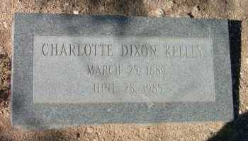 KELLY, CHARLOTTE DIXON - Pima County, Arizona | CHARLOTTE DIXON KELLY - Arizona Gravestone Photos