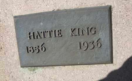 KING, HATTIE - Pima County, Arizona | HATTIE KING - Arizona Gravestone Photos