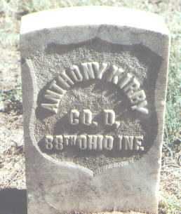 KIRBY, ANTHONY - Pima County, Arizona | ANTHONY KIRBY - Arizona Gravestone Photos