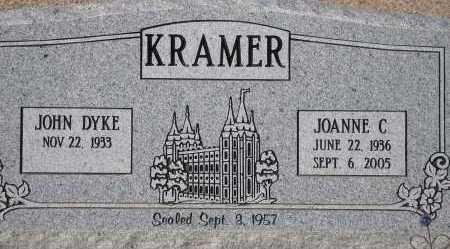 KRAMER, JOANNE C. - Pima County, Arizona | JOANNE C. KRAMER - Arizona Gravestone Photos