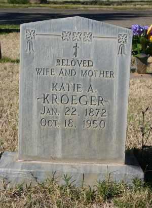 KROEGER, KATIE A - Pima County, Arizona | KATIE A KROEGER - Arizona Gravestone Photos