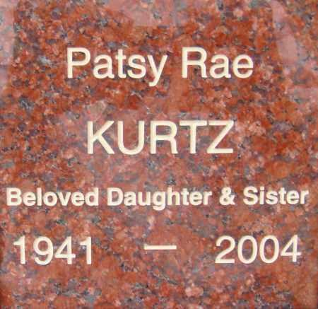 KURTZ, PATSY RAE - Pima County, Arizona | PATSY RAE KURTZ - Arizona Gravestone Photos