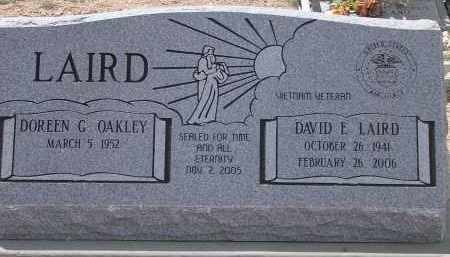LAIRD, DAVID E. - Pima County, Arizona | DAVID E. LAIRD - Arizona Gravestone Photos