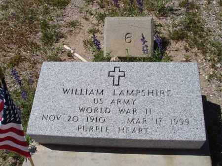 LAMPSHIRE, WILLIAM - Pima County, Arizona   WILLIAM LAMPSHIRE - Arizona Gravestone Photos