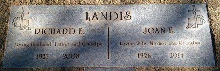 DILLMAN LANDIS, JOAN ELOISE - Pima County, Arizona | JOAN ELOISE DILLMAN LANDIS - Arizona Gravestone Photos