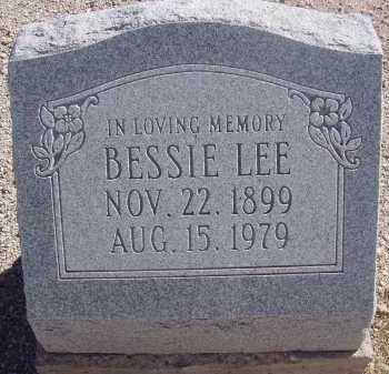 LEE, BESSIE - Pima County, Arizona | BESSIE LEE - Arizona Gravestone Photos