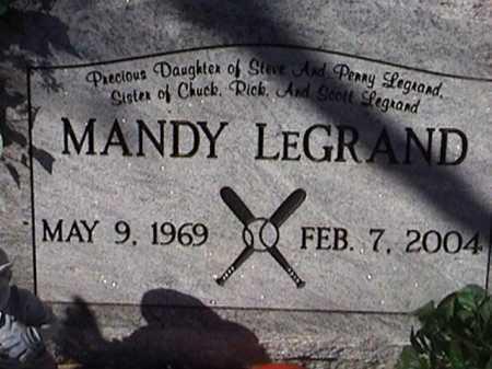 LEGRAND, MANDY - Pima County, Arizona | MANDY LEGRAND - Arizona Gravestone Photos