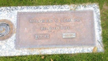 LEMONS, MILDRED G. - Pima County, Arizona | MILDRED G. LEMONS - Arizona Gravestone Photos