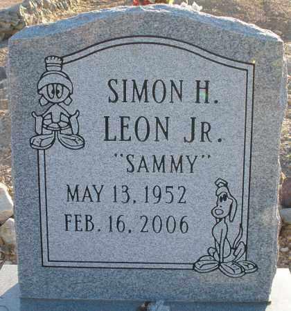 "LEON, SIMON H. ""SAMMY"" JR - Pima County, Arizona | SIMON H. ""SAMMY"" JR LEON - Arizona Gravestone Photos"
