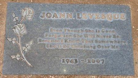 LEVESQUE, JOANN - Pima County, Arizona   JOANN LEVESQUE - Arizona Gravestone Photos