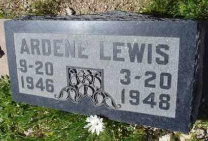 LEWIS, ARDENE - Pima County, Arizona | ARDENE LEWIS - Arizona Gravestone Photos