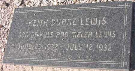 LEWIS, KEITH DUANE - Pima County, Arizona | KEITH DUANE LEWIS - Arizona Gravestone Photos
