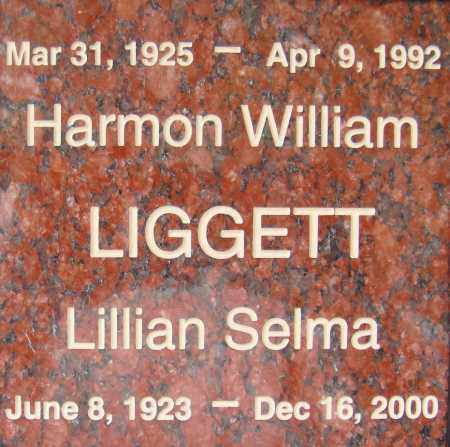LIGGETT, HARMON WILLIAM - Pima County, Arizona | HARMON WILLIAM LIGGETT - Arizona Gravestone Photos