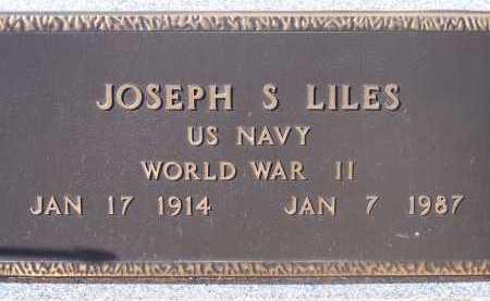 LILES, JOSEPH S. - Pima County, Arizona | JOSEPH S. LILES - Arizona Gravestone Photos