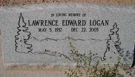 LOGAN, LAWRENCE EDWARD - Pima County, Arizona | LAWRENCE EDWARD LOGAN - Arizona Gravestone Photos