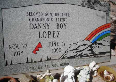 LOPEZ, DANNY BOY - Pima County, Arizona | DANNY BOY LOPEZ - Arizona Gravestone Photos
