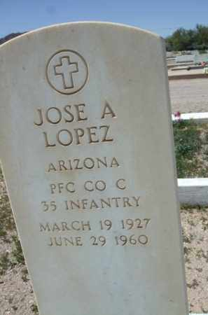 LOPEZ, JOSE A. - Pima County, Arizona | JOSE A. LOPEZ - Arizona Gravestone Photos