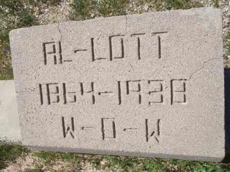 LOTT, AL - Pima County, Arizona   AL LOTT - Arizona Gravestone Photos