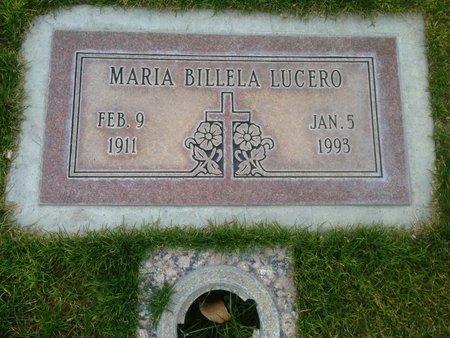 LUCERO, MARIA BILLELA - Pima County, Arizona | MARIA BILLELA LUCERO - Arizona Gravestone Photos