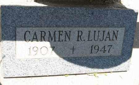 LUJAN, CARMEN R. - Pima County, Arizona   CARMEN R. LUJAN - Arizona Gravestone Photos