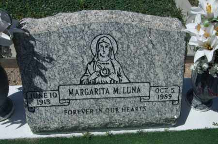 LUNA, MARGARITA M. - Pima County, Arizona | MARGARITA M. LUNA - Arizona Gravestone Photos