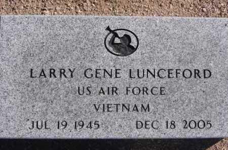 LUNCEFORD, LARRY GENE - Pima County, Arizona   LARRY GENE LUNCEFORD - Arizona Gravestone Photos