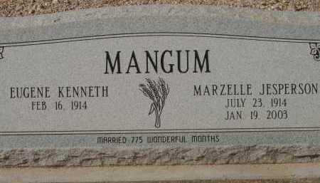 MANGUM, MARZELLE JESPERSON - Pima County, Arizona | MARZELLE JESPERSON MANGUM - Arizona Gravestone Photos