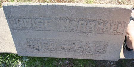 "MARSHALL, LOUISA ""LOUISE"" - Pima County, Arizona 