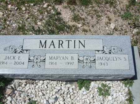 MARTIN, JACK E. - Pima County, Arizona | JACK E. MARTIN - Arizona Gravestone Photos