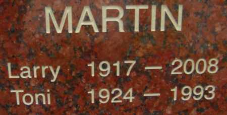 MARTIN, TONI - Pima County, Arizona | TONI MARTIN - Arizona Gravestone Photos