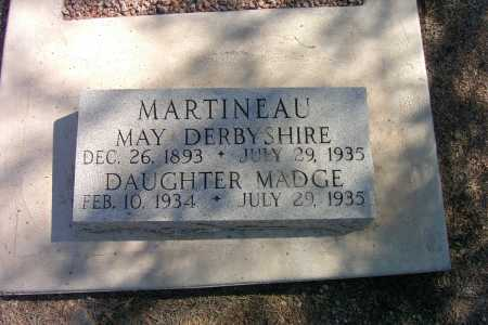 MARTINEAU, MAY DERBYSHIRE - Pima County, Arizona | MAY DERBYSHIRE MARTINEAU - Arizona Gravestone Photos
