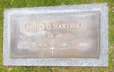 MARTINEZ, ERMILO G. - Pima County, Arizona   ERMILO G. MARTINEZ - Arizona Gravestone Photos
