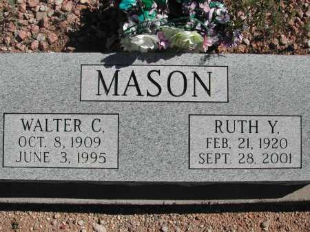 MASON, WALTER C. - Pima County, Arizona | WALTER C. MASON - Arizona Gravestone Photos