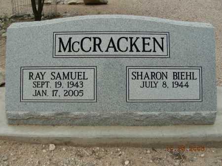 MCCRACKEN, SHARON BIEHL - Pima County, Arizona   SHARON BIEHL MCCRACKEN - Arizona Gravestone Photos